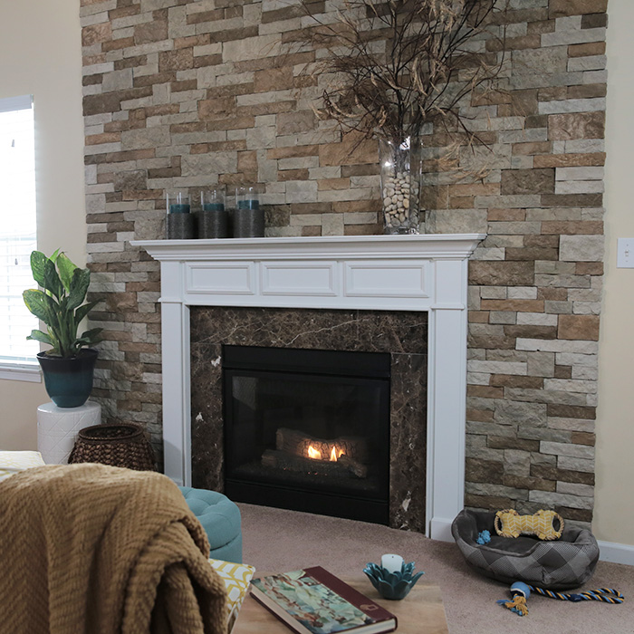Faux Brick Veneer - Veneer - California
